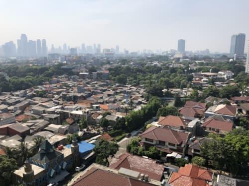 ジャカルタの街並み