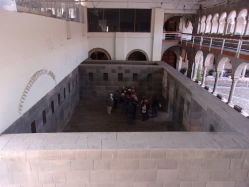 コリカンチャ神殿の内部