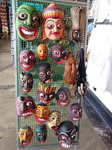 人の顔のマスク