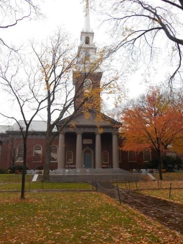 ボストンのハーバード大学
