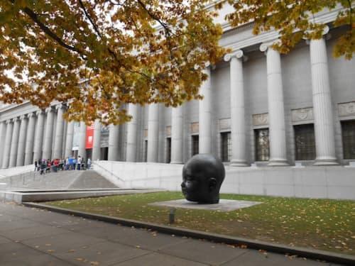 ボストン美術館の外観