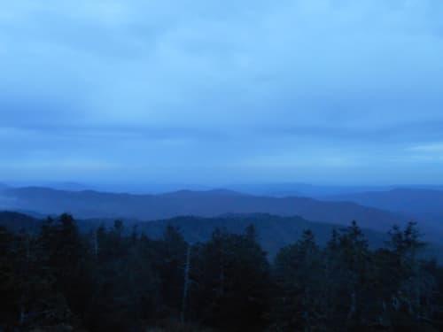 グレート・スモーキー山脈国立公園の景色