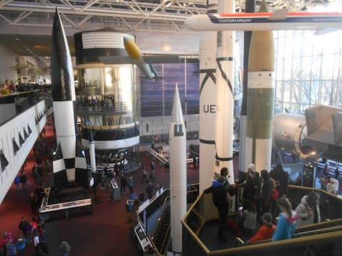 ワシントンDCの国立航空宇宙博物館