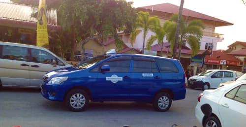 ランカウイ島のタクシー