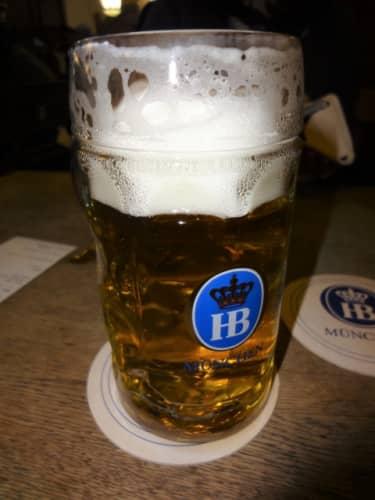ホーフブロイのビール