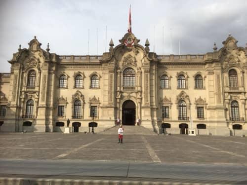 政府宮殿と衛兵