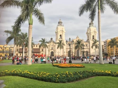 アルマス広場の様子