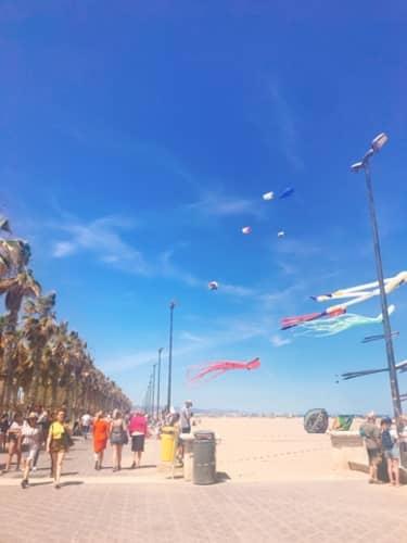 バレンシアの海