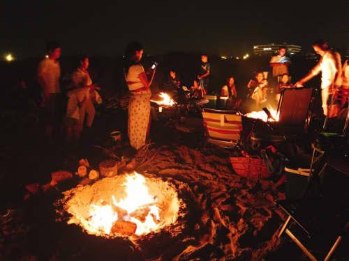 サン・フアンの焚火