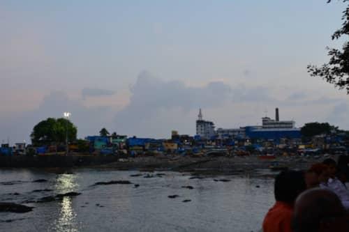 ムンバイのスラム