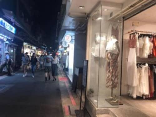 師大夜市ストリート