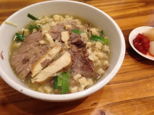 西安の麺料理