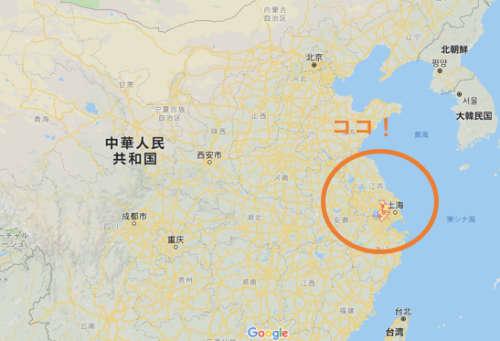 蘇州の位置