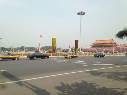 北京の街並み