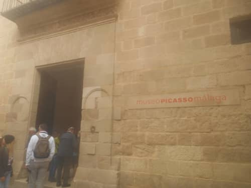 マラガのピカソ美術館