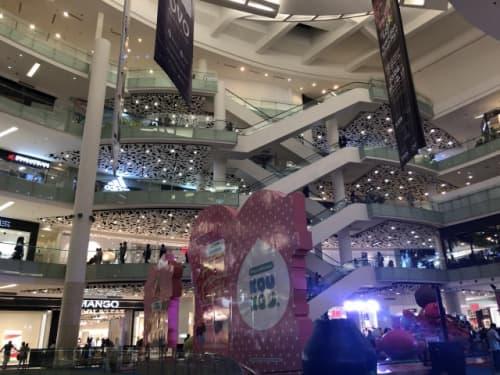 ジャカルタのショッピングモール