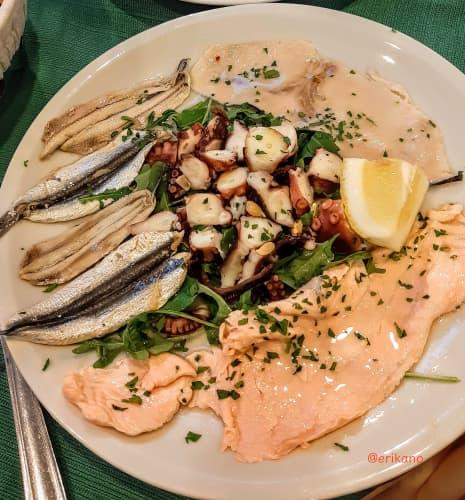 イタリア 海鮮