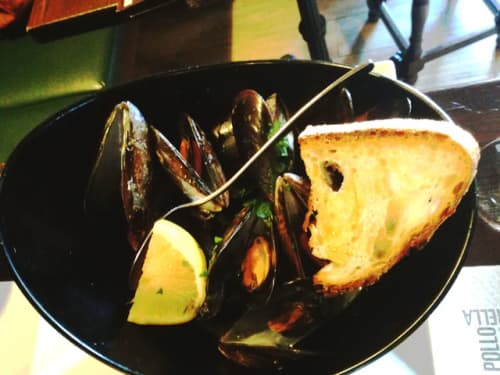 イタリア料理 ムール貝
