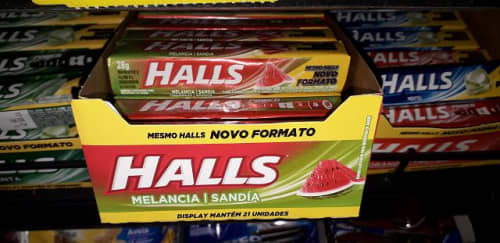 HALLS スイカ味