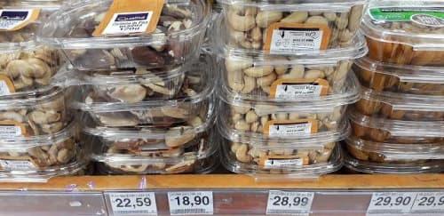 ブラジルナッツとカシューナッツ
