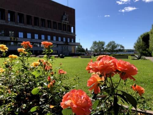 オスロ市庁舎庭園
