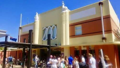 メルボルン動物園の入り口