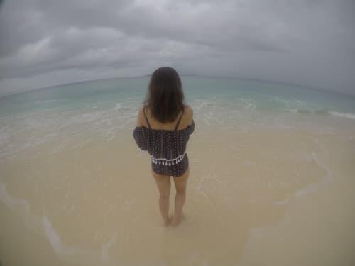 雨季のバンブー島