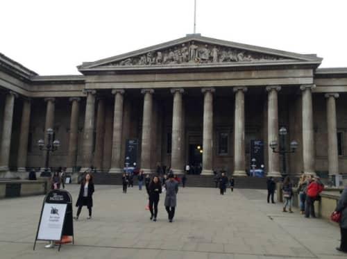 大英博物館正面
