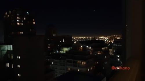 ケープタウン 夜