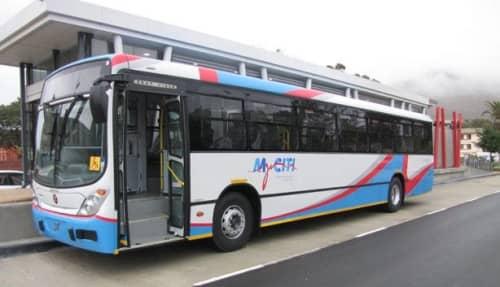 ケープタウン  空港バス