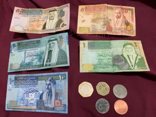 ヨルダンのお金
