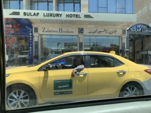 アンマンのタクシー