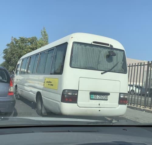アンマンの乗り合いバス