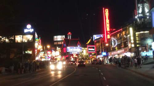 クリフトンヒルの夜景