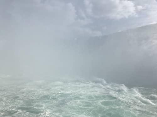 ナイアガラクルーズ(カナダ滝)