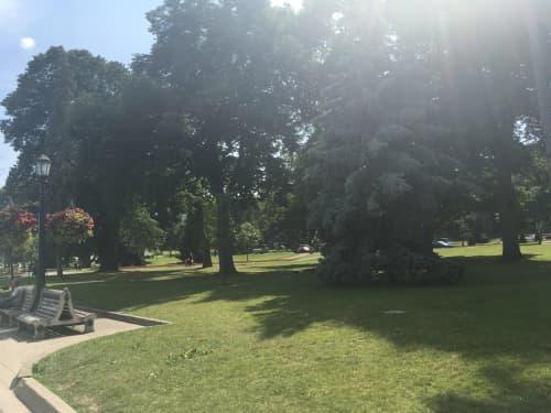 ナイアガラ横の公園