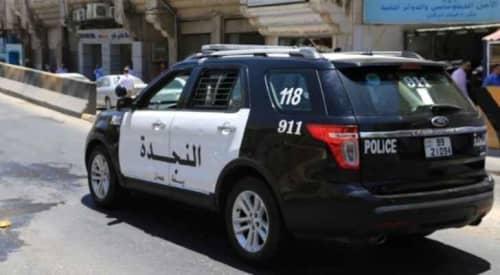 ヨルダンの警察のパトロールカー