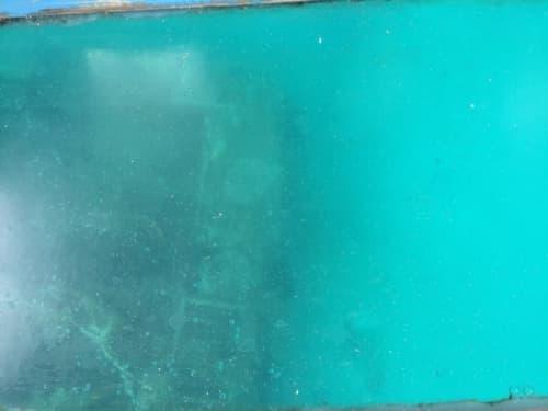 アカバの海底にある戦車