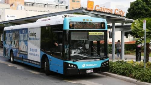 ケアンズのバス