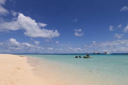 ミコマスケイのビーチ