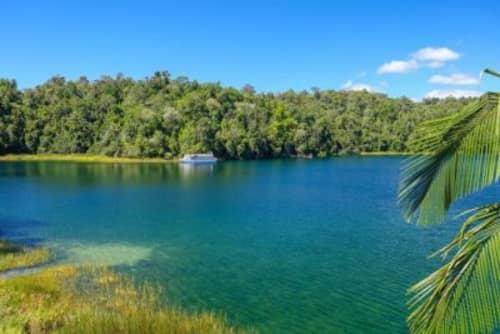 バリン湖の景色