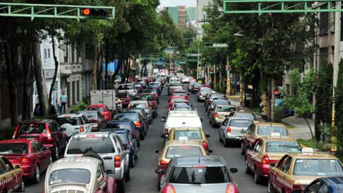 メキシコの渋滞