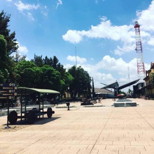 アグアスカリエンテスの公園