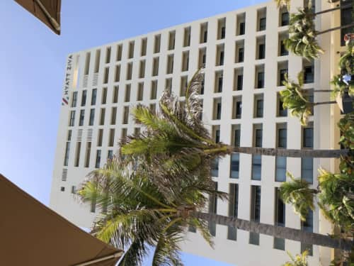 ハイアットホテル