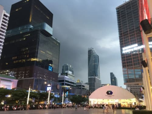 バンコクの雨季
