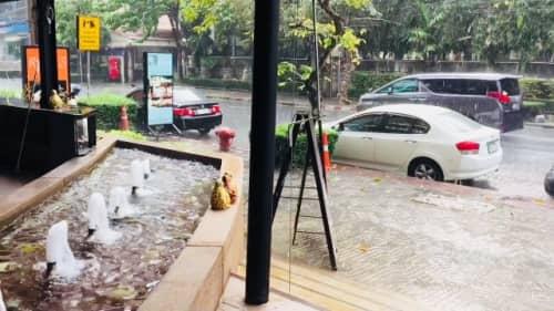 バンコクの大雨