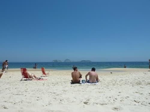 イパネマビーチの砂浜