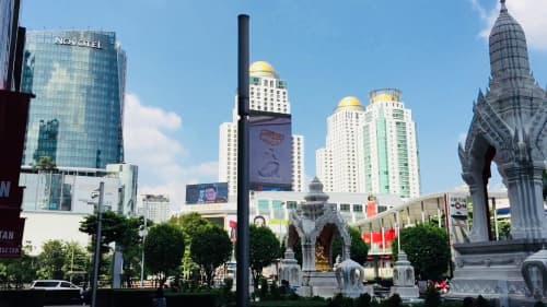 バンコクの熱そうな景色