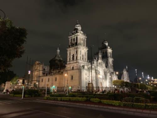 メキシコシティの大聖堂