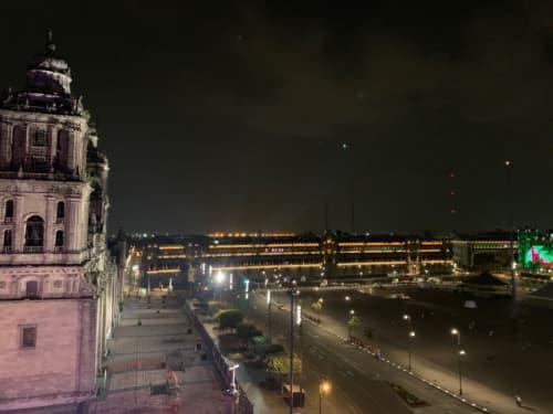 メキシコシティの国立宮殿